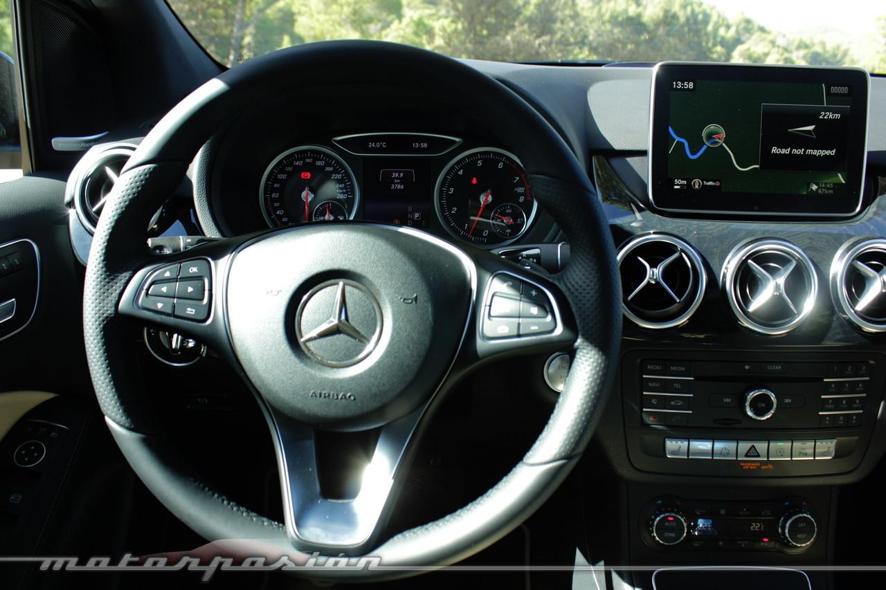 Foto de Mercedes-Benz Clase B 2015 - contacto (25/38)