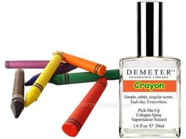 Colonia con olor a crayola