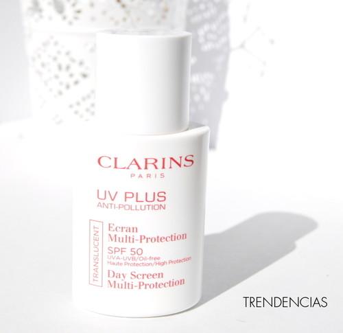 ¿Buscas un buen protector solar facial?: probamos el UV Plus Anti-polución de Clarins