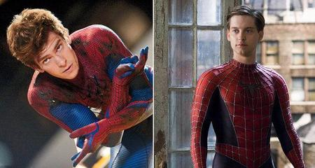 Andrew Garfield y Tobey Maguire