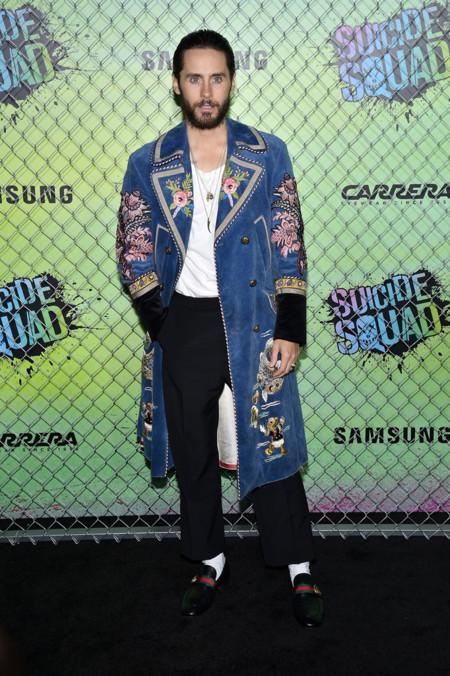 Jared Leto Gucci Premiere Suicide Squad Looks