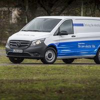 Mercedes-Benz eVito: una furgoneta eléctrica con hasta 150 kilómetros de autonomía y fabricada en España