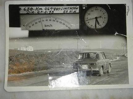 Foto A que Velocidad Saltan Multan Radares
