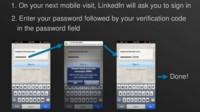 LinkedIn también incorpora la verificación en dos pasos