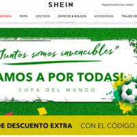 Shein celebra el mundial con descuentos extra del 15% y envío gratis