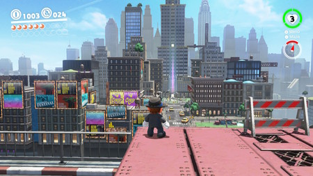 Super Mario Odyssey modo foto