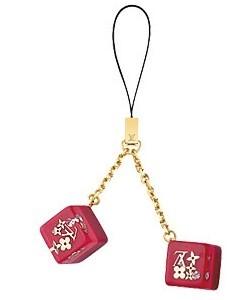 Colgante de Louis Vuitton para el móvil