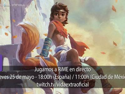 Streaming de RiME a las 18:00h (las 11:00h en Ciudad de México) [finalizado]