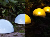 Lámparas solares de Ikea para exteriores