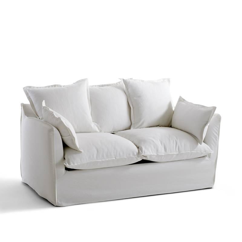 Sofá convertible de algodón/lino, Bultex, Odna