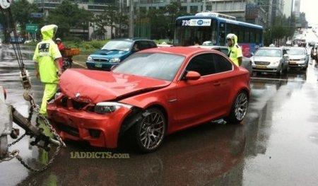 Dolorpasión™: El primer BMW Serie 1 M Coupé que acaba mal parado