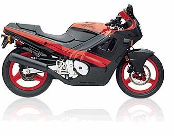 Historia gráfica Honda CBR 600