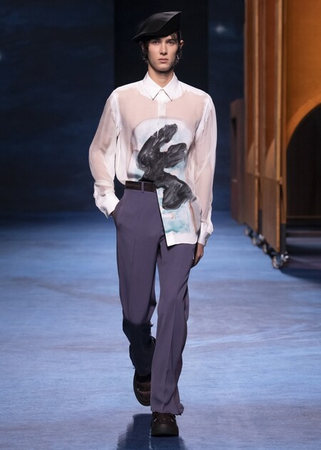 Dior Winter21 Look 25