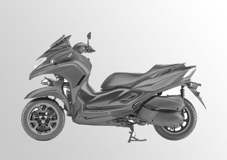 Casi confirmada: así será la nueva moto de tres ruedas de Yamaha para 2019 entre la Tricity y la Niken