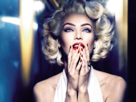 Marilyn Monroe sigue estando presente en nuestras vidas, esta vez de la mano de Max Factor y Candice Swanepoel