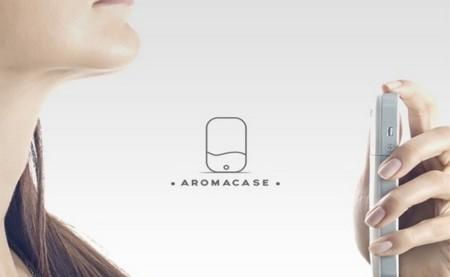 AromaCase, una funda para móvil que guarda en su interior tu perfume favorito
