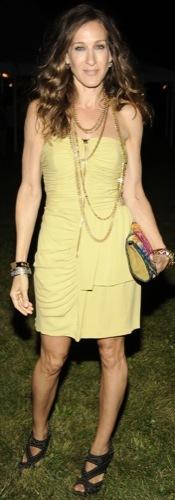 El look ideal para ir a una fiesta campestre por Sarah Jessica Parker II