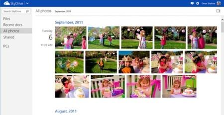 SkyDrive mejora la subida de fotos y añade nuevas formas de visualizarlas
