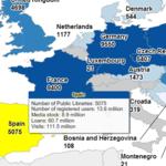 España, a la cabeza en el número de socios de bibliotecas públicas