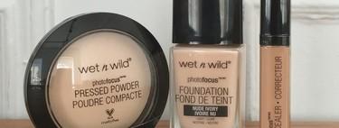 Probamos el kit para un rostro perfecto de Wet n Wild, belleza natural en formato low-cost