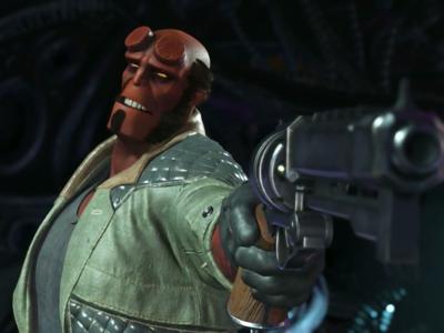 Injustice 2: Hellboy salta al ring y se postula como el más badass del juego