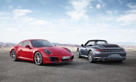 Porsche 911 Carrera 2016: adiós atmosféricos, ahora todos turbo