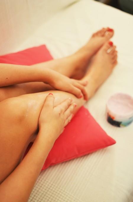 Woman Legs Relaxation Beauty 3146