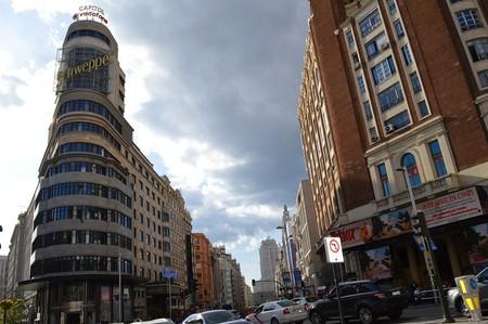Edificio Capitol Gran Vía Madrid