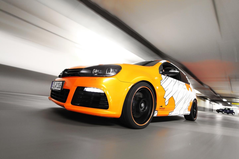 Foto de Volkswagen Golf R Cam Shaft Naranja eléctrico (1/13)