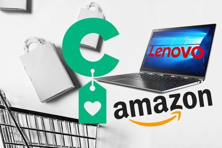 Semana Lenovo en Amazon: modelos de portátiles y convertibles a precios rebajados