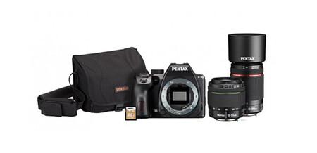 Pentax K 70 Superkit Con Dos Opticas Y Accesorios