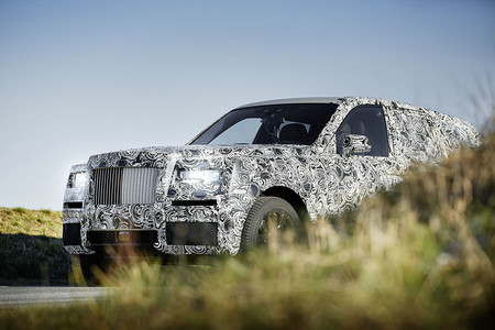 Rolls-Royce Proyecto Cullinan 1