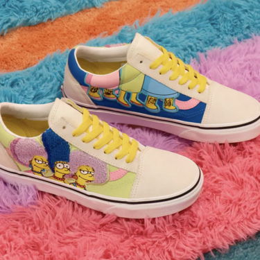 Si eres fan de Los Simpsons, posiblemente adores esta colección de Vans que tiene un modelo personalizable