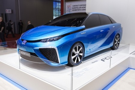 El nuevo Toyota FCV también llegará a Europa en 2015