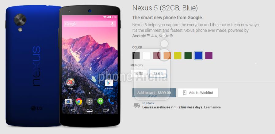 Foto de Nuevos Colores para el Nexus 5 (3/6)