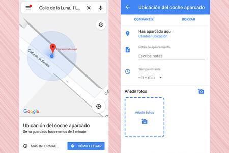 Google Maps Como Guardar La Ubicacion Del Coche Aparcado