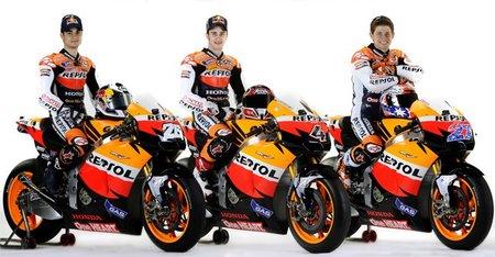 El Repsol Honda Team presenta a sus apuestas para MotoGP 2011