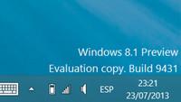 Microsoft recuerda que la licencia de la versión preview de Windows 8.1 finaliza en enero