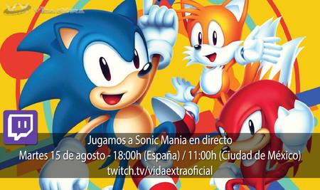 Jugamos en directo a Sonic Mania a las 18.00h (las 11.00h en Ciudad de México) [Finalizado]