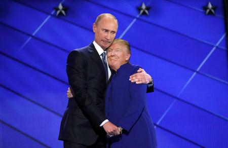 Barack Obama Hillary Clinton Hug Photoshop Battle 5