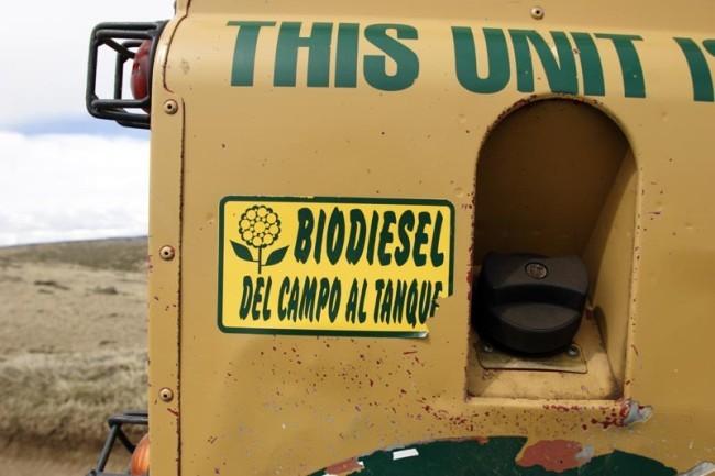 Todoterreno argentino biodiesel