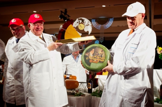 Queso ganador World Championship Cheese Contest