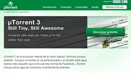 La publicidad en uTorrent será opcional