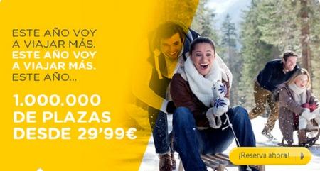 Vueling oferta vuelos 'desde' 29,99 euros por trayecto