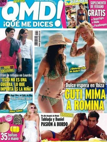 Guti y Romina al rico sol ibicenco... ¡envidia, no, lo siguiente!