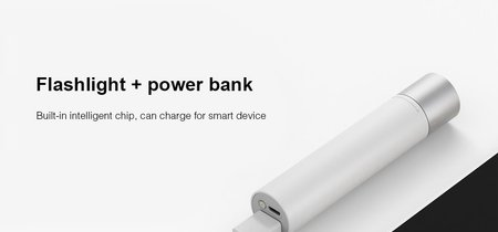 Linterna LED Xiaomi Flashlight, con power bank de 3350mAh, por sólo 14 euros con este cupón