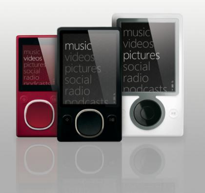Comparativa: Zune vs. iPod