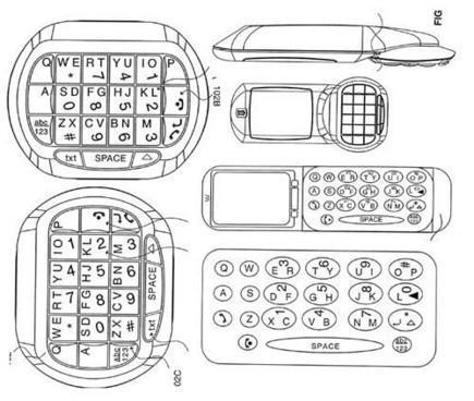 Blackberry puede estar preparando un nuevo teclado