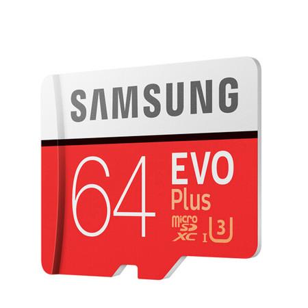 Tarjeta MicroSD de 64GB Samsung Evo Plus por 18 euros y envío gratis con este cupón