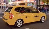 El Kia Carens/Rondo se viste de Taxi de Nueva York